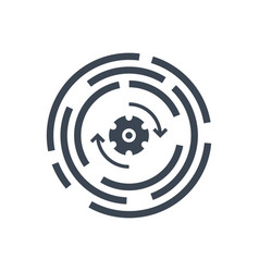Update glyph icon vector