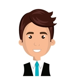 Young male cartoon design vector