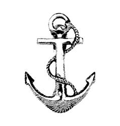 Anchor Hand drawn vector image vector image