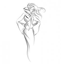 Fashion illustration vector
