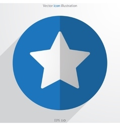 star web icon vector image