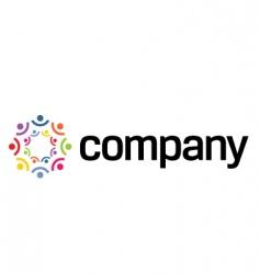 Friendship logo vector