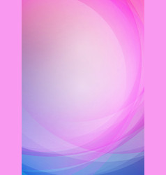 abstract curved on colors background vector image