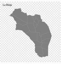 High quality map is a province argentina vector