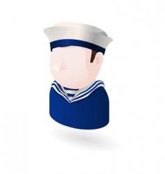 sailor icon vector image