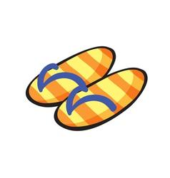 Slippers vector