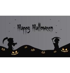 warlock halloween backgrounds scary vector image