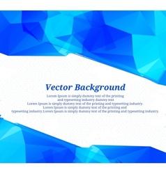 Background blue color vector image