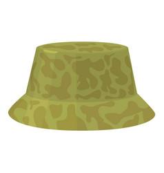 Camp hat icon cartoon style vector