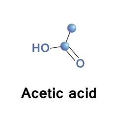 Acetic acid vector