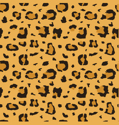 African cheetah leopard fur seamless vector