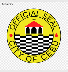 Emblem city of philippines vector