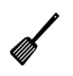 Kitchen ware silhouette vector image