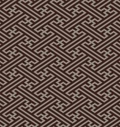 oriental linen pattern vector image