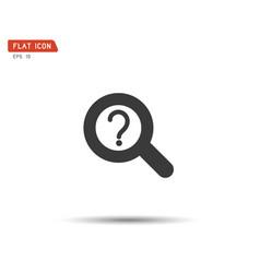 search icon eps logo vector image