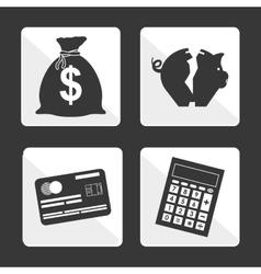 Taxes icon design vector image