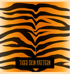 tiger skin pattern texture design vector image