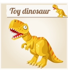 Toy dinosaur Cartoon Series vector image