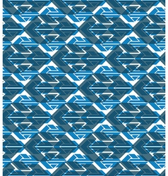 Colorful geometric seamless layered composition vector