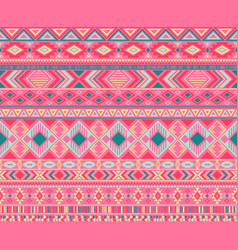 American indian pattern tribal ethnic motifs vector