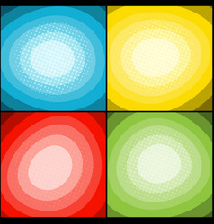 comic colorful concept vector image