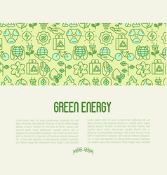 ecology concept contains seamless pattern vector image