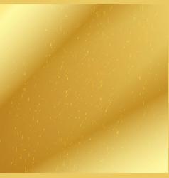 golden speckled background vector image
