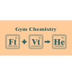 Gym and Fitness relative image vector