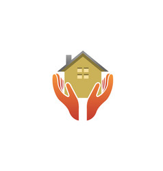 House holding care logo vector