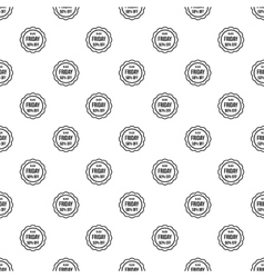 Sale sticker 50 percent off pattern simple style vector