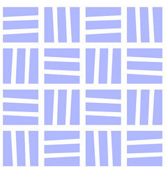seamless blue and white pattern vector image