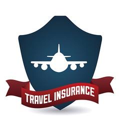 Travel insurance design vector