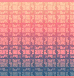 abstract geometric square pattern background and vector image vector image