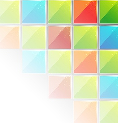 Abstract creative background with copy space vector image