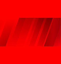 Abstract modern diagonal stripes red background vector