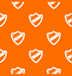 Antivirus installation pattern orange vector