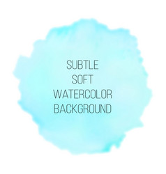 colorful abstract background soft blue and green vector image