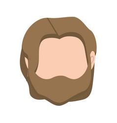 Default avatar man to social user vector