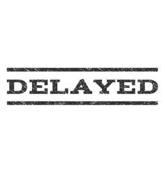 Delayed Watermark Stamp vector