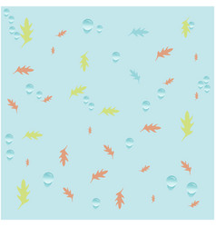 Leaves classic background vector