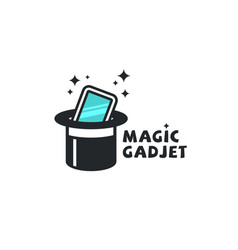 Magic gadget logo vector