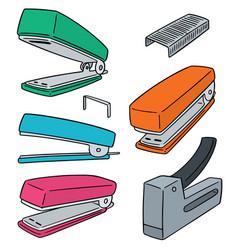 Set of stapler vector