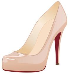 a shoe vector image