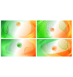Abstract tennis backgrounds vector
