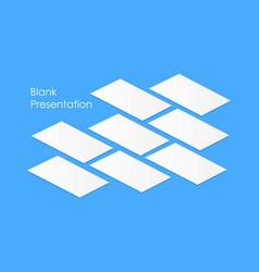 blank app screens vector image
