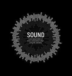 Soundtrack playback music record vector