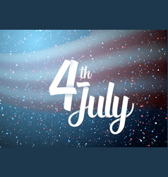 usa independence day poster vector image