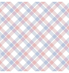 Red and blue checkered colorful seamless pattern vector image