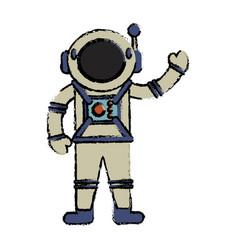 astronaut suit spaceman image vector image vector image