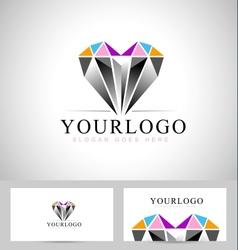 Diamond Logo Design vector image